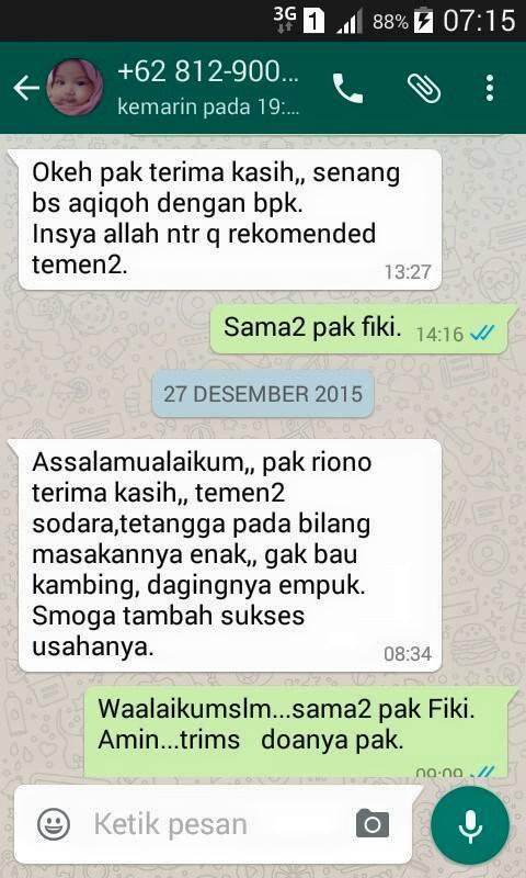 Testimoni Aqiqah Surabaya