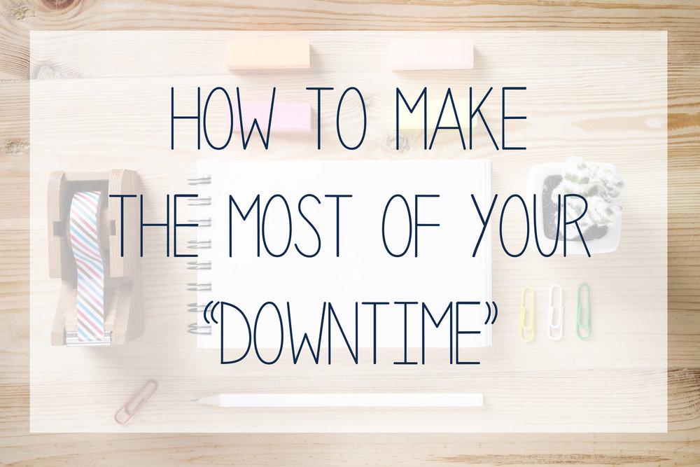 Downtime - Waktu Pemasaran yang Tepat