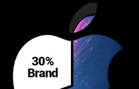 apple brand value