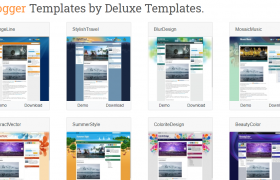 Blogger Templates By Deluxe Templates