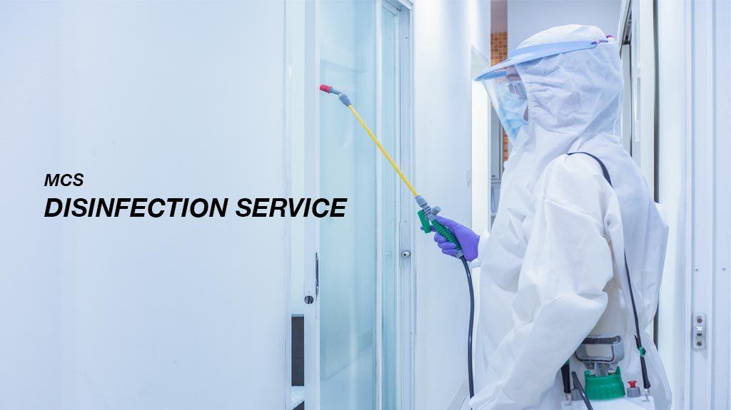 Pelayanan Disinfektan